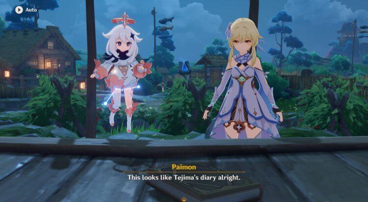 Genshin Impact Inazuma Archon Quest Guide Акт I Неподвижный Бог и Вечная Евфимия 1b