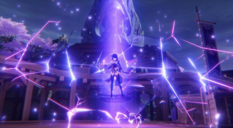 Genshin Impact Inazuma Archon Quest Act 2 Руководство Stillness The Sublimation Of Shadow Baal Boss Fight Raiden Shogun Kujou Sara Gorou Kokomi 1a