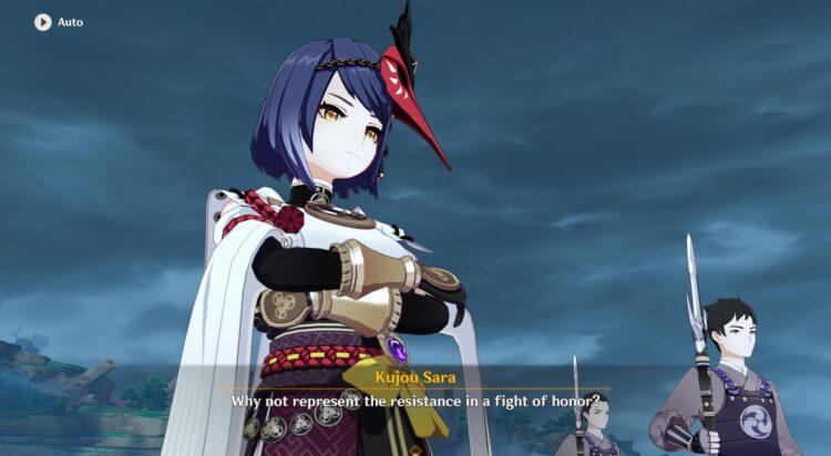Genshin Impact Inazuma Archon Quest Act 2 Guide Stillness The Sublimation Of Shadow Baal Boss Fight Raiden Shogun Kujou Sara Gorou Kokomi 2