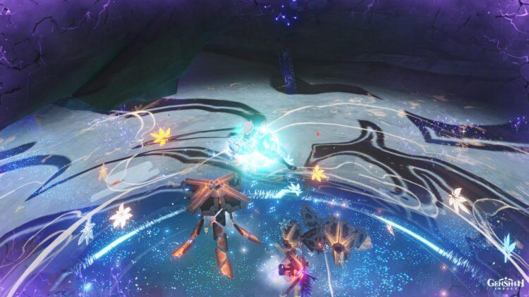 Genshin Impact Ruin Sentinel Locations Chaos Gear Chaos Axis Chaos Oculus Farming Guide 4