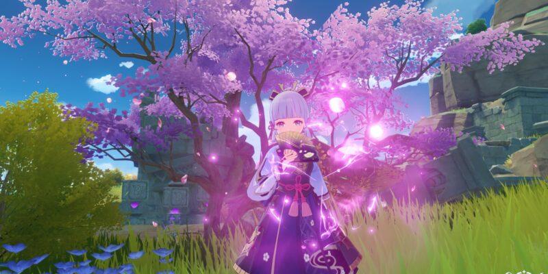 Genshin Impact Sakura Bloom Farming Locations Guide Ayaka Ascension Guide