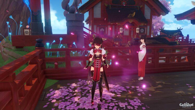 Genshin Impact Sakura Bloom Farming Locations Guide Ayaka Ascension Guide 2a