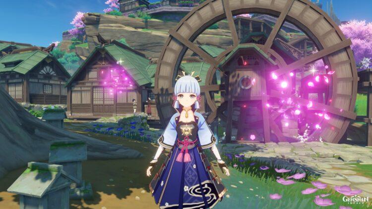 Genshin Impact Sakura Bloom Farming Locations Guide Ayaka Ascension Guide 2c