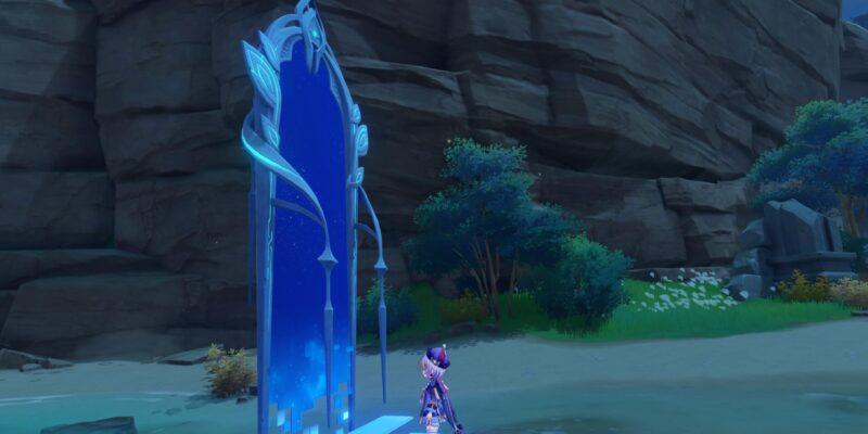Genshin Impact Thunder Sojourn Automaton Front Perpetual Mechanical Array Thunder Crystal Free Beidou