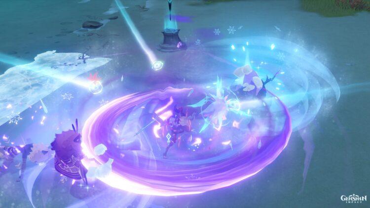 Кольцо Genshin Impact Thunder Sojourn Lightning Round Guide 1