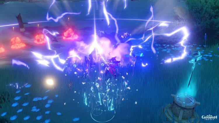 Кольцо Genshin Impact Thunder Sojourn Lightning Round Guide 2