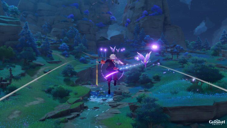 Genshin Impact Thunder Sojourn Event Guide Free Beidou Thunder Pellet Thunder Crystal 1a