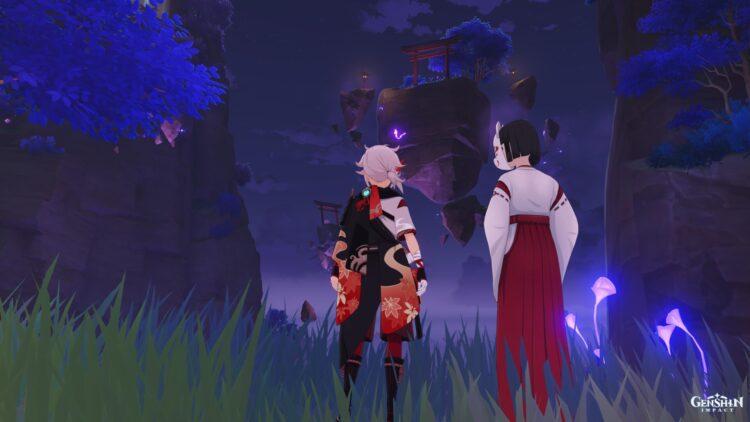 Genshin Impact Yougou Cleansing Miasmic Tumor Boss Hakushin Ring Sacred Sakura Cleansing Ritual Finale Guide