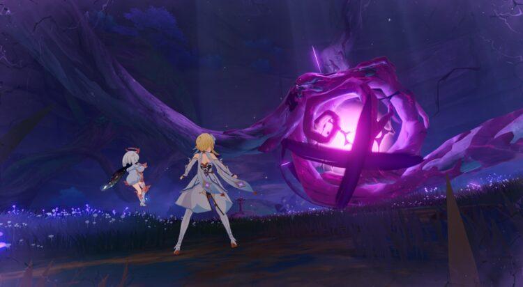 Genshin Impact Yougou Cleansing Miasmic Tumor Boss Hakushin Ring Sacred Sakura Cleansing Ritual Finale Guide Feat