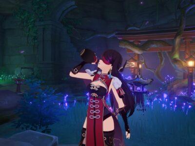 Genshin Impact Underwater Teleporter Teleport Waypoint Domain Araumi Sacred Sakura Ritual Guide