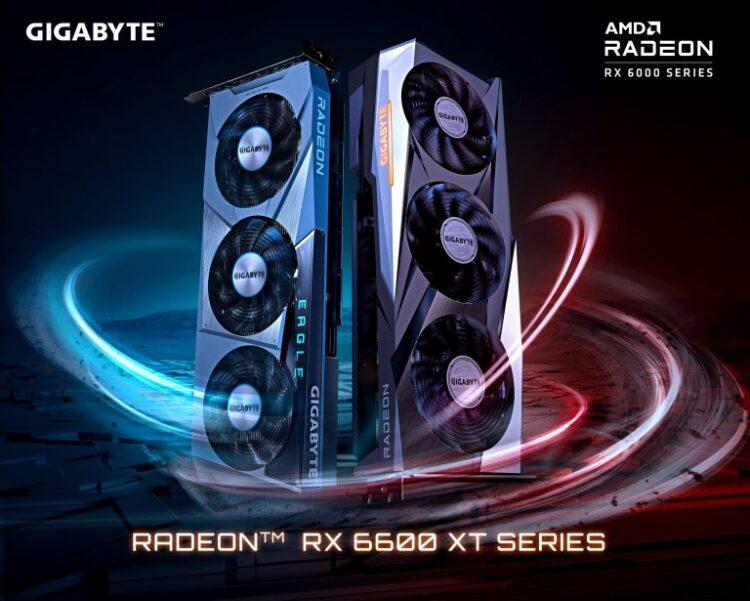 Gigabyte RX 6600 XT