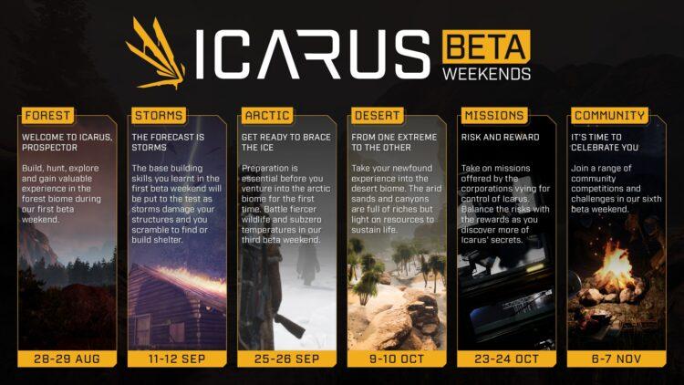 Icarus Open Beta