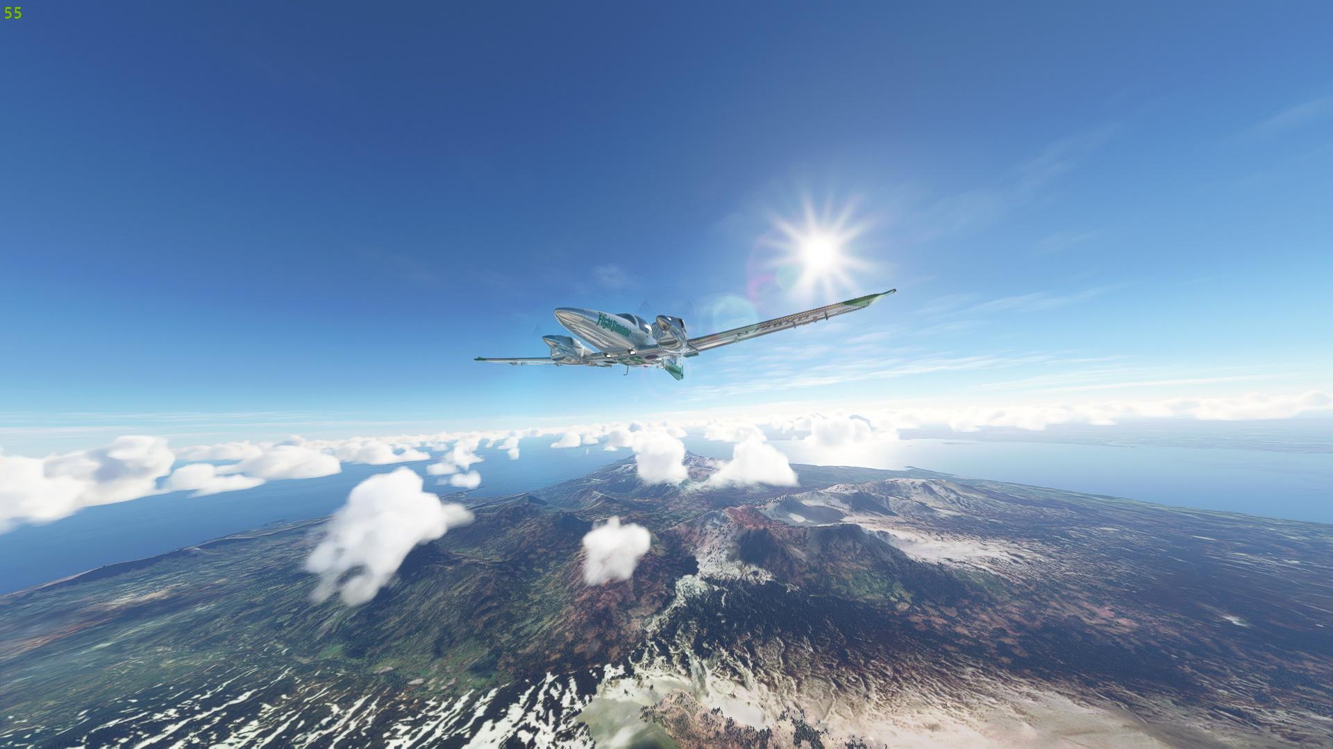 Microsoft Flight Simulator After Sim Update V