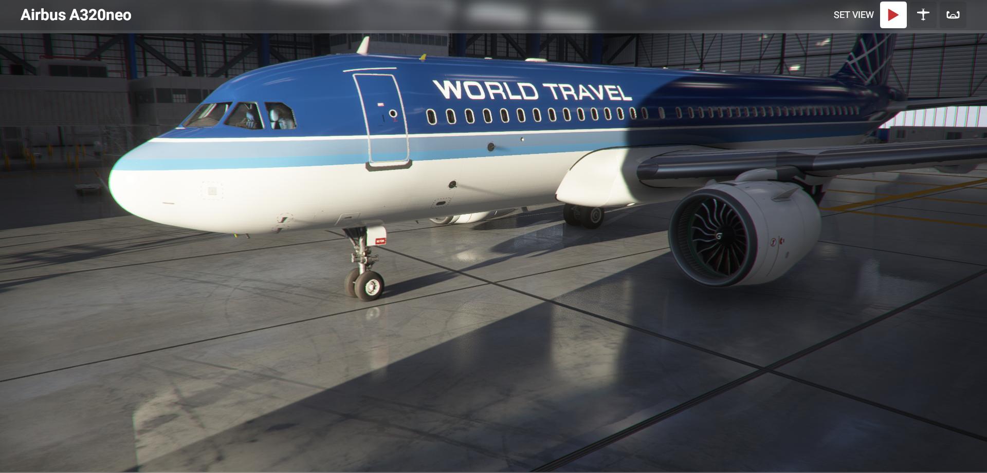 Microsoft Flight Simulator Airbus A320neo