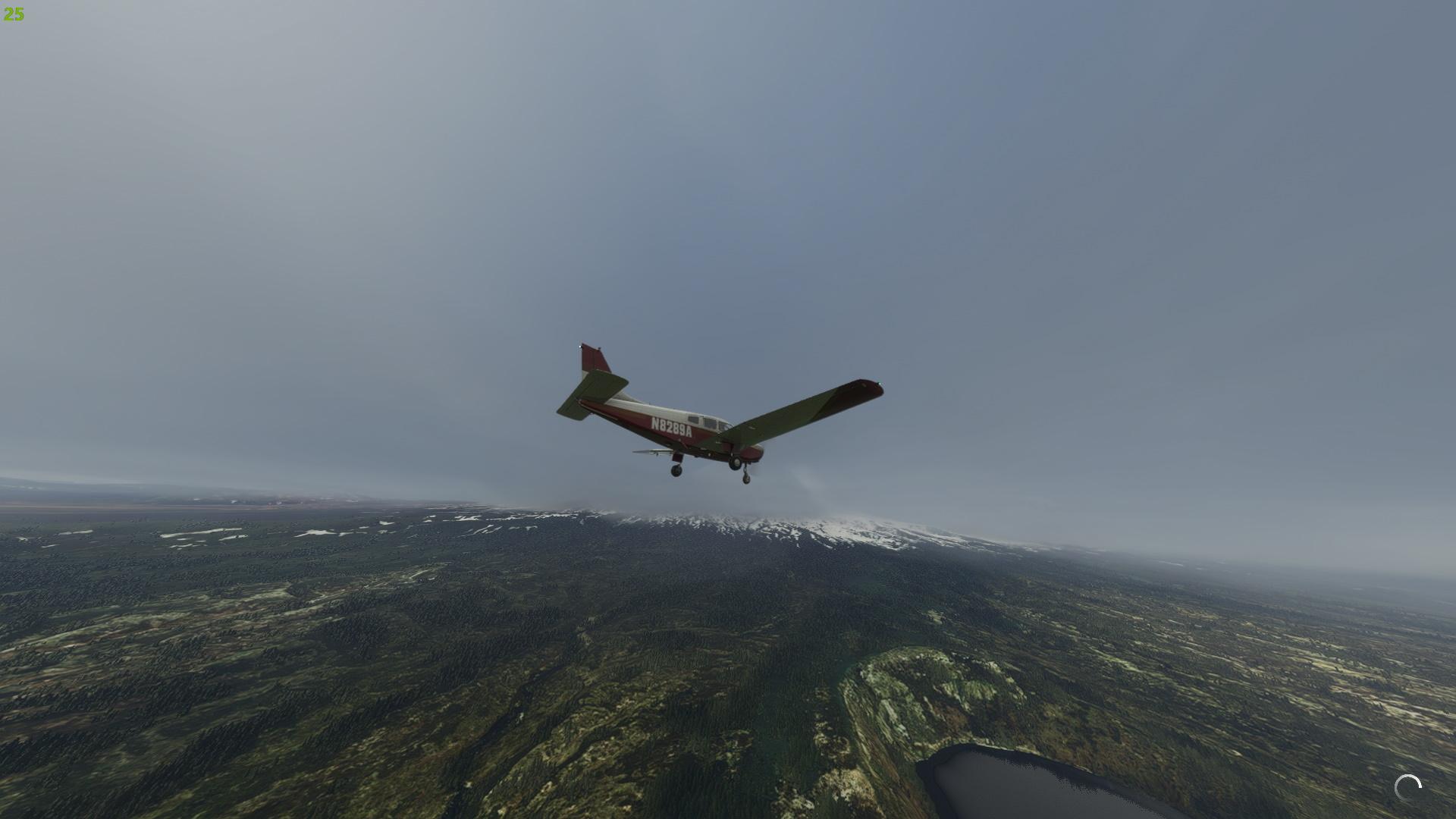 Microsoft Flight Simulator Before Sim Update V