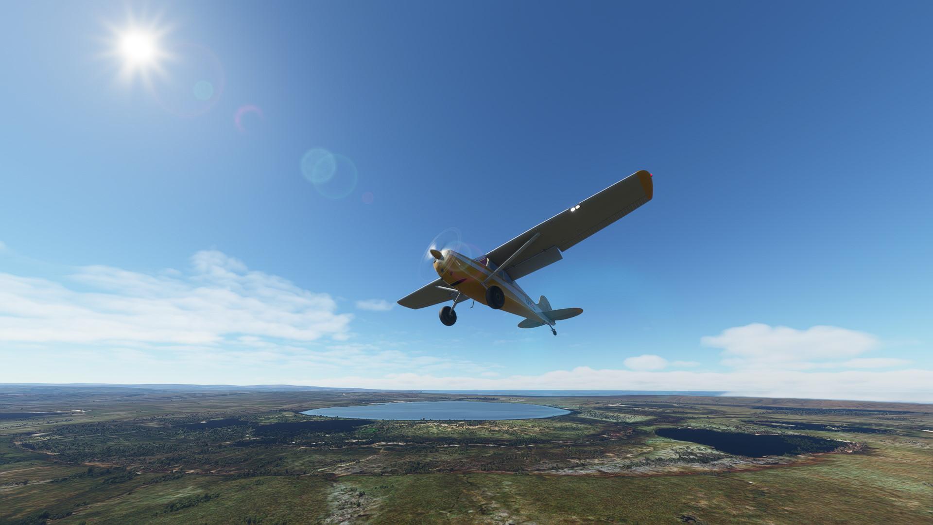 Microsoft Flight Simulator Carenado C170b Alaska Backcountry Rise