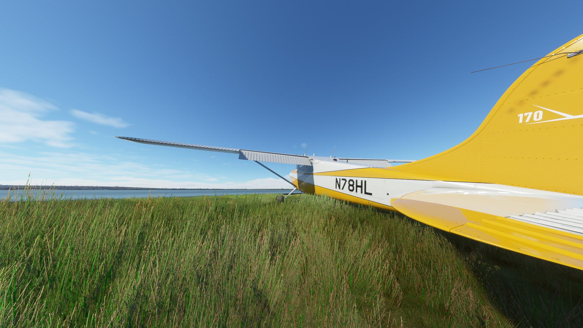 Microsoft Flight Simulator Carenado C170b Alaska Lakeshore