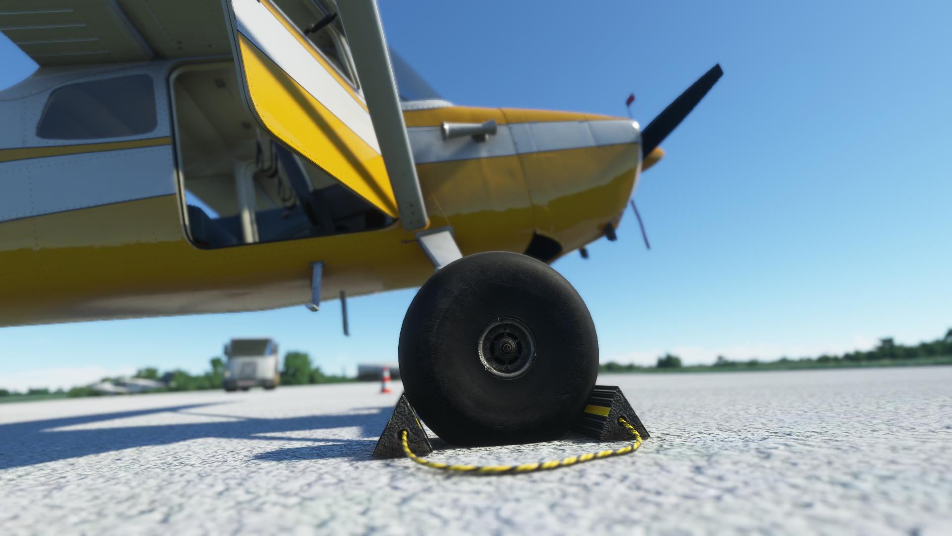 Microsoft Flight Simulator Carenado Cessna On The Apron