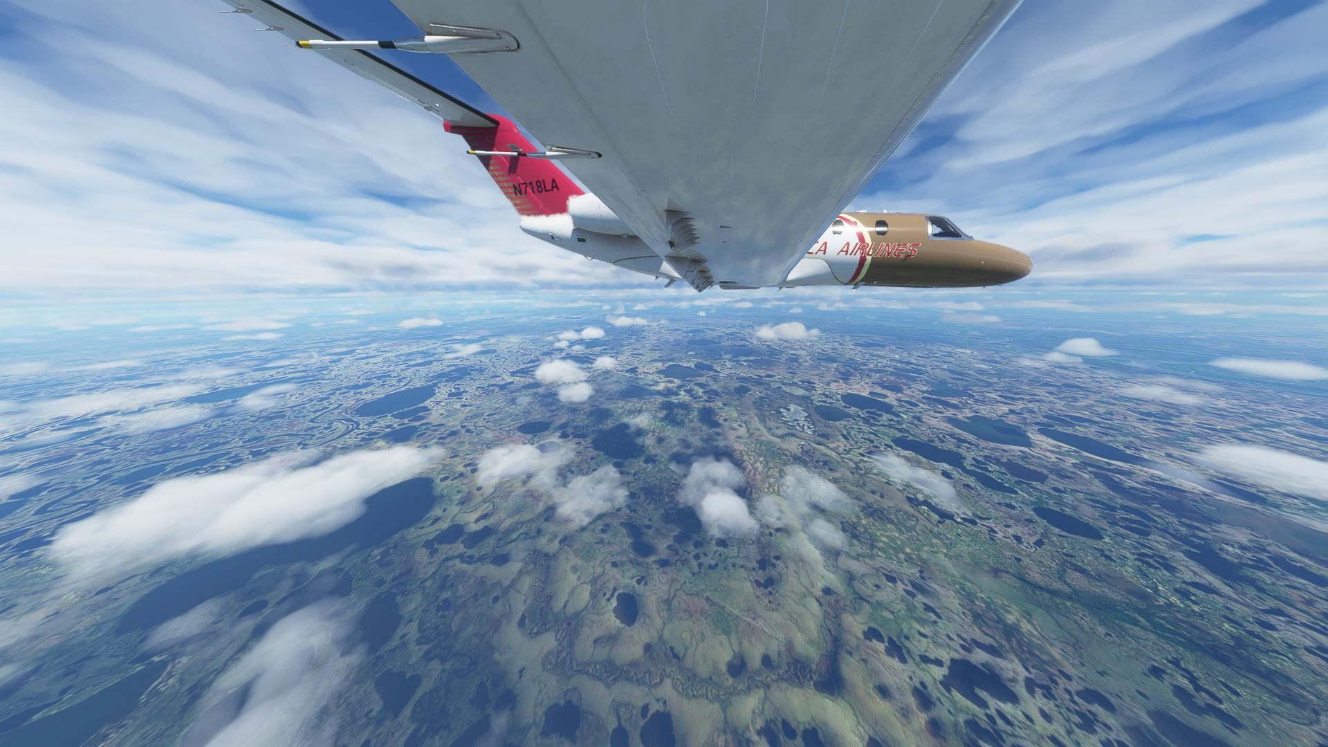 Cessna Cj4 Over Alaska