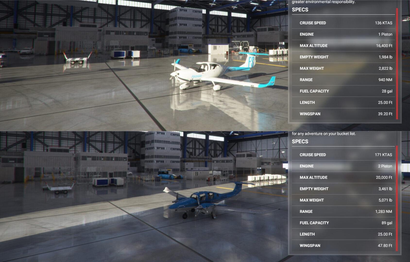 Microsoft Flight Simulator Diamond Props