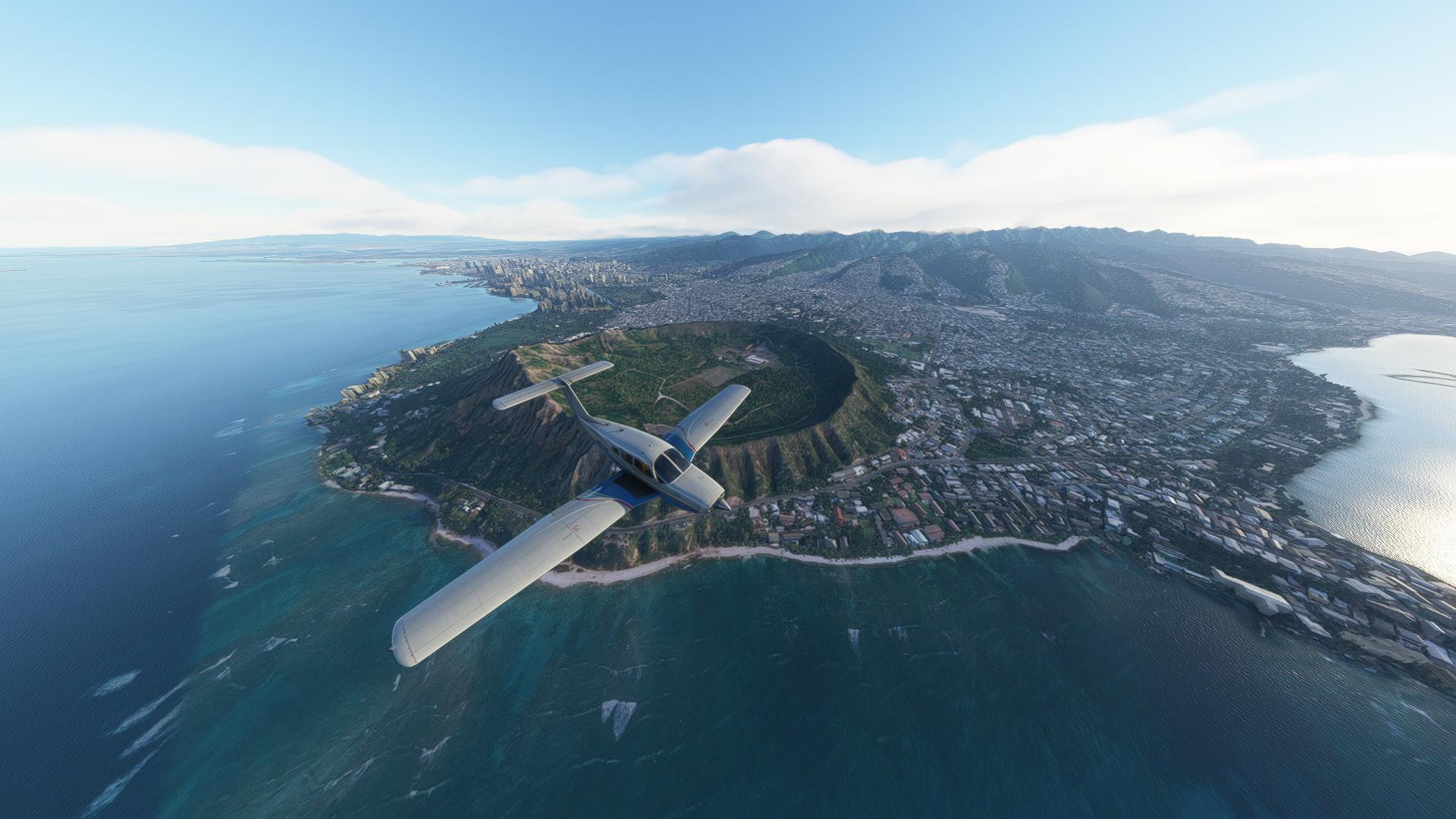 Microsoft Flight Simulator Hawaii Fly Over help tips guides