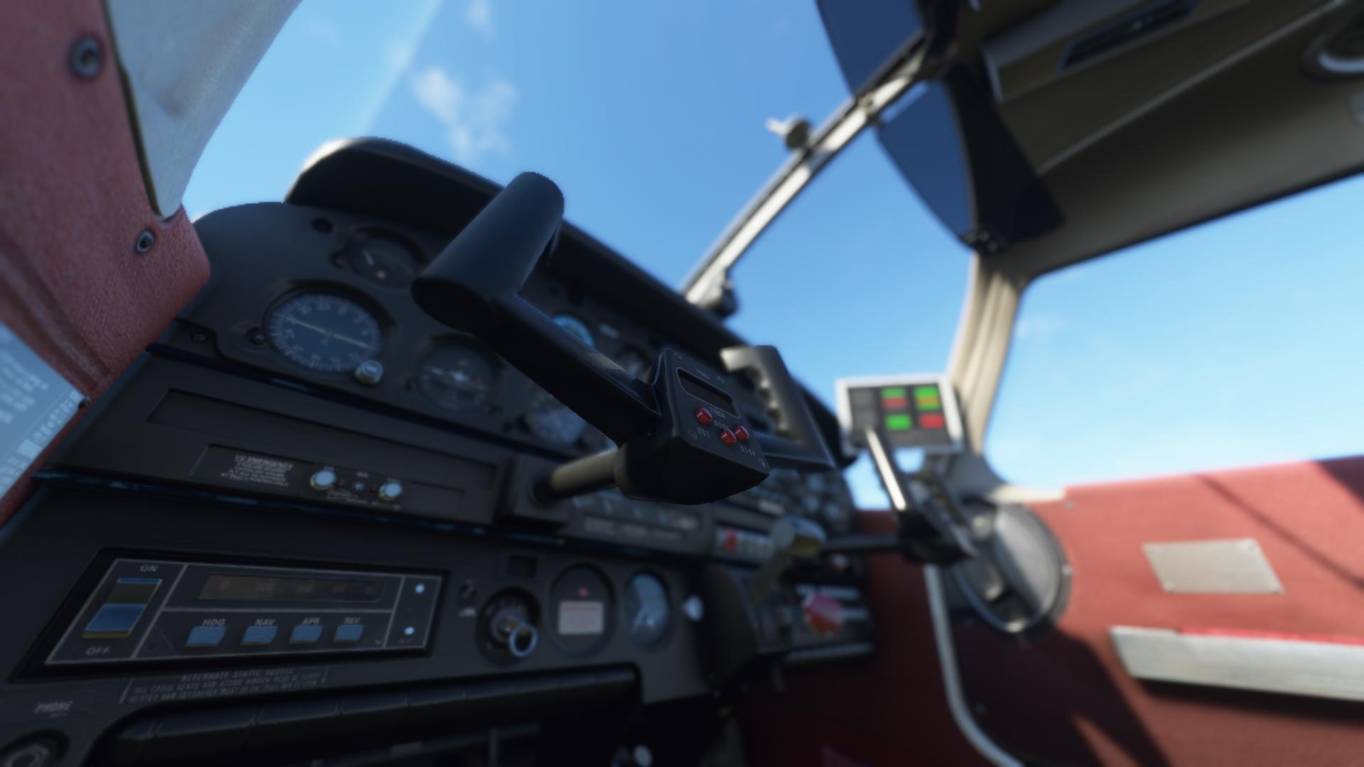 Just Flight Piper Warrior Ii Interior Shot