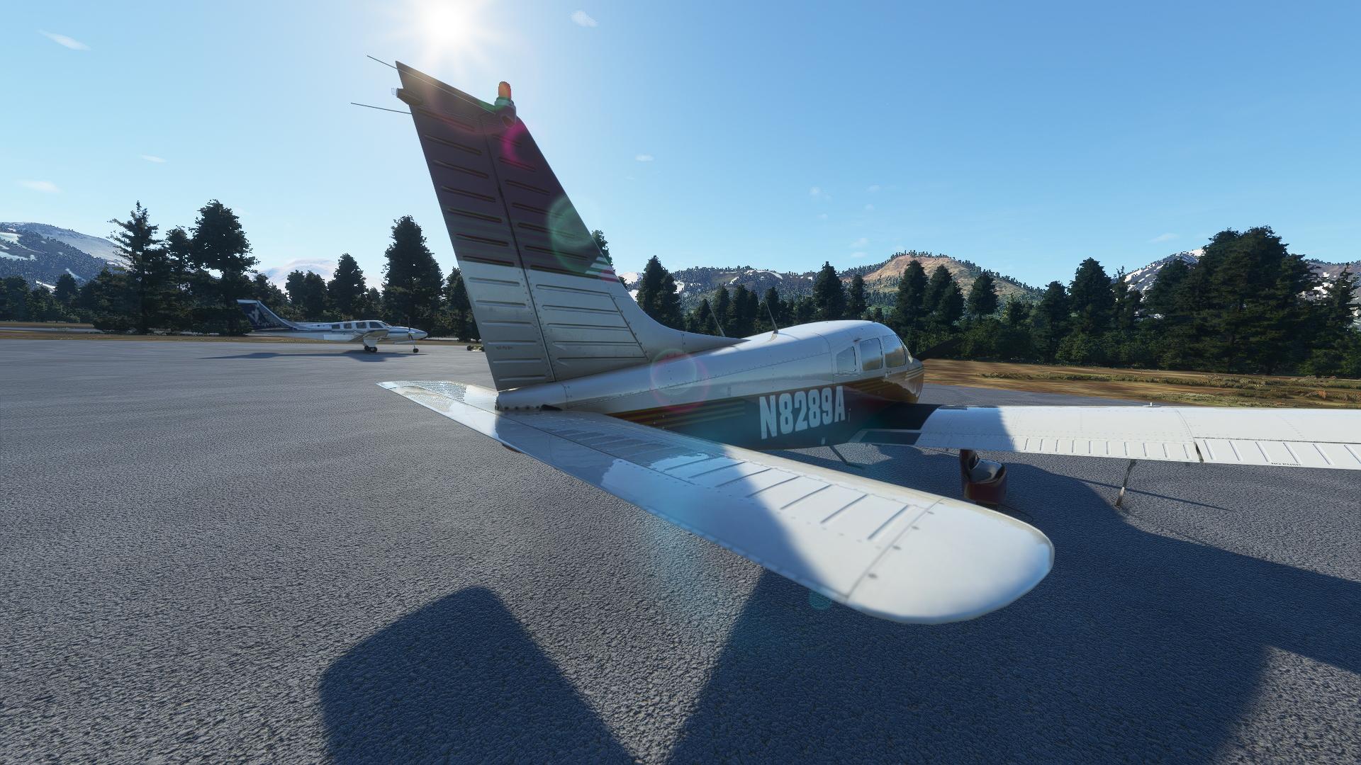 Microsoft Flight Simulator Just Flight Piper Warrior Ii Trim Elevators