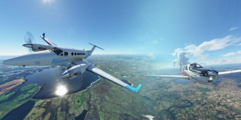 Microsoft Flight Simulator King Air And Bonanza
