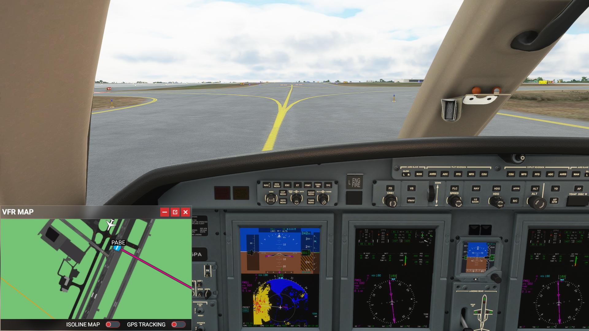 Microsoft Flight Simulator Vfr Map 1