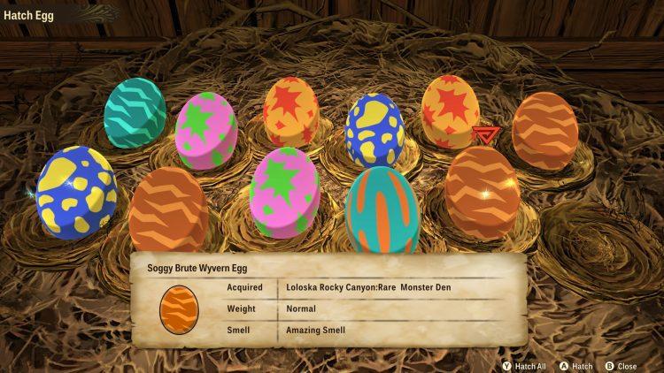 Monster Hunter Stories 2 Wings Of Ruin Monster Dens Eggs Rarity Best Genes Rite Of Channeling Guide 2c