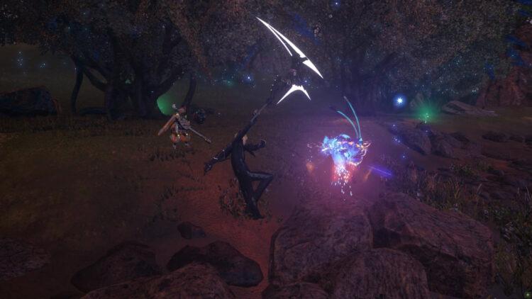 Pso2 New Genesis Force Gameplay Rod Bujin