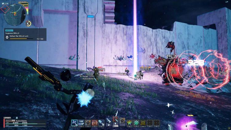 Pso2 New Genesis Pse Burst Aoe Homing Darts Assault Rifle