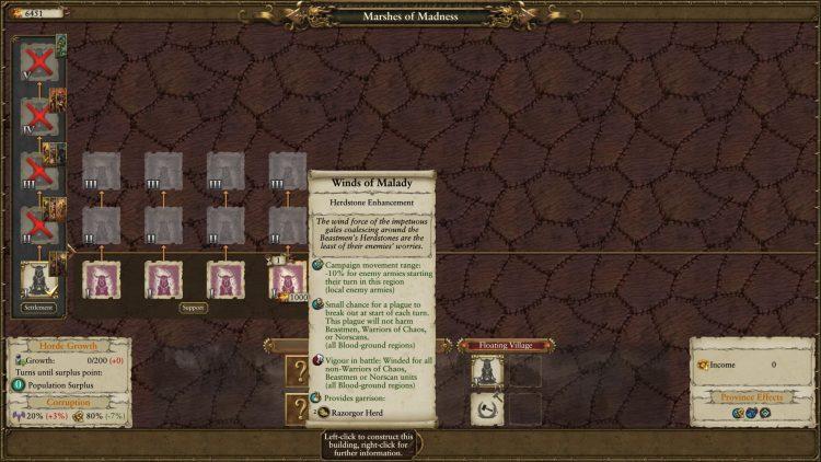 Total War Warhammer Ii Warhammer 2 Руководство по переработке зверолюдов Стадо Кровавое поле Ужасное благосклонность Обновления 1a