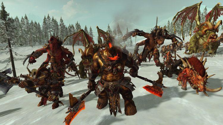 Total War Warhammer II Warhammer 2 Руководство по переработке зверолюдов Стадо Кровавое поле Ужасное благосклонность Обновления 1c