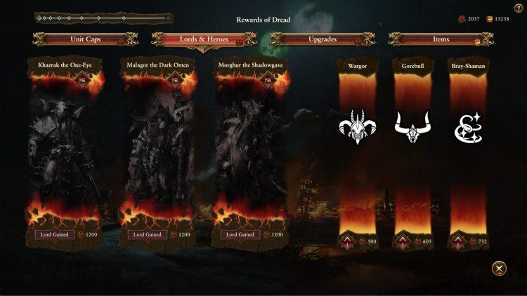 Total War Warhammer II Warhammer 2 Руководство по переработке зверолюдов Стадо Кровавое поле Ужасные улучшения благосклонности 2b