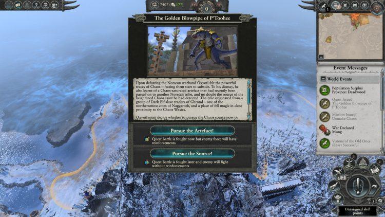 Total War Warhammer II Warhammer 2 Oxyotl Golden Blowpipe Of P'toohee Quest Battle Guide 1