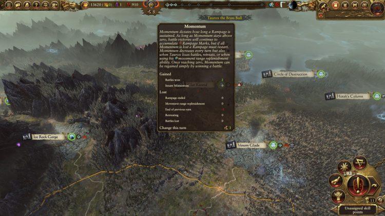 Total War Warhammer II Warhammer 2 Taurox Rampage Momentum Руководство 1