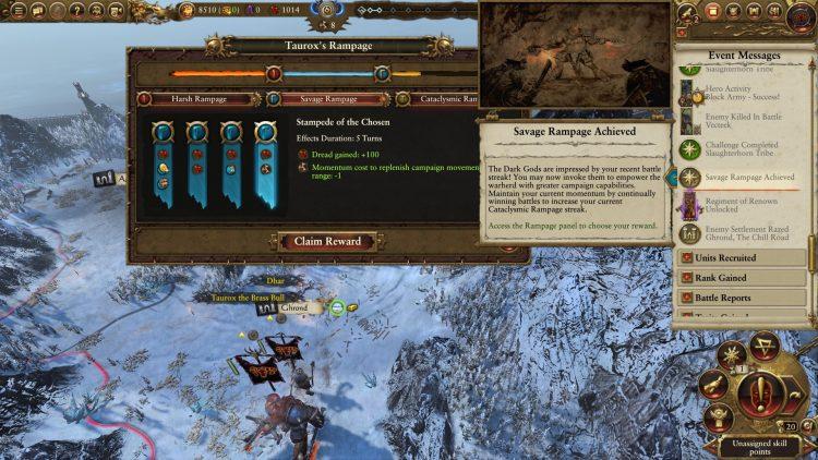 Total War Warhammer II Warhammer 2 Taurox Rampage Momentum Руководство 2