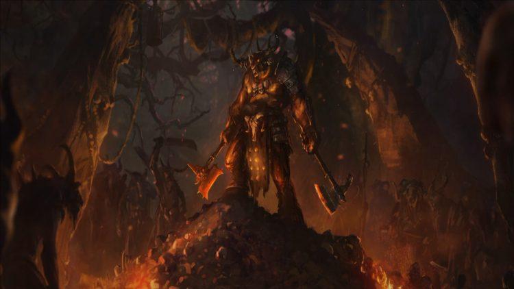 Total War Warhammer II Warhammer 2 Руководство по Тауроксу Slaughterhorn Rampage Momentum Beastmen Rework 1