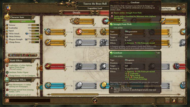 Total War Warhammer II Warhammer 2 Руководство по Тауроксу Slaughterhorn Rampage Momentum Beastmen Rework 3b