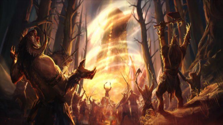 Total War Warhammer II Warhammer 2 Сердце тьмы Taurox Oxyotl Final Battle Guide 2c