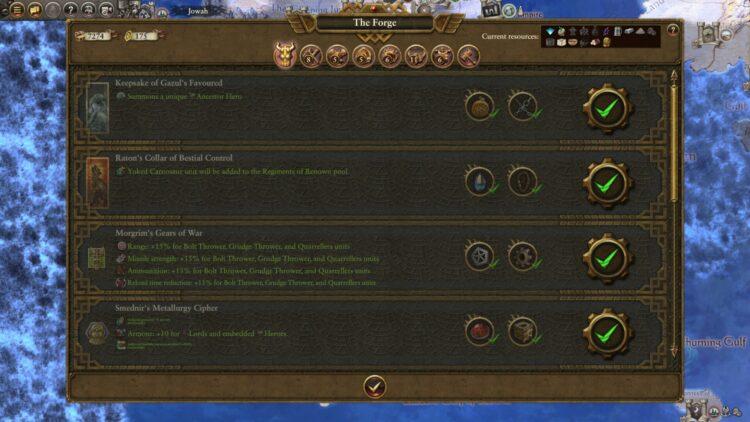 Total War Warhammer Ii Warhammer 2 Thorek Ironbrow Artifacts Artifact Vault Guide 2