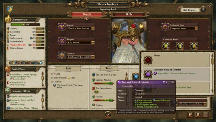 Total War Warhammer Ii Warhammer 2 Thorek Ironbrow Lost Vault Final Battle Guide 3