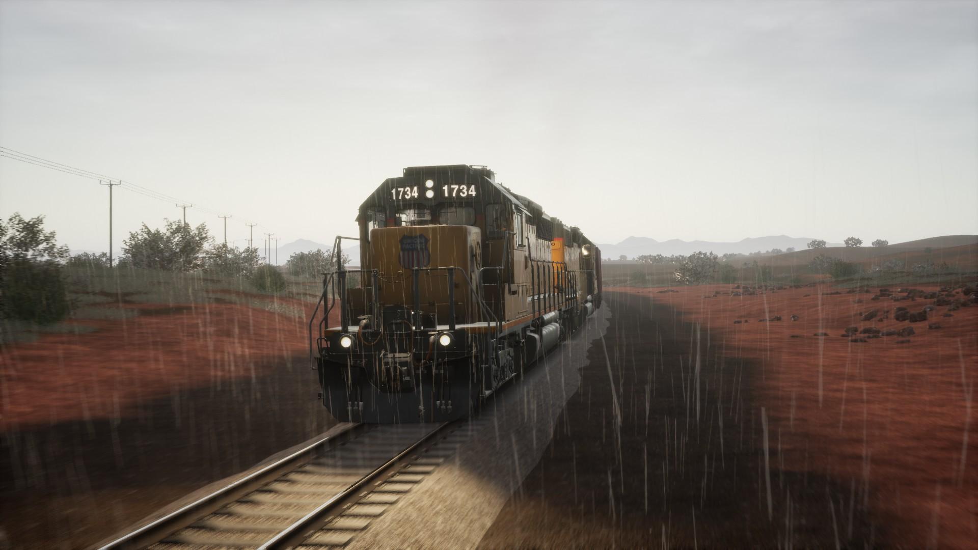 Train Sim World 2 Cane Creek gameplay review Rain Shower