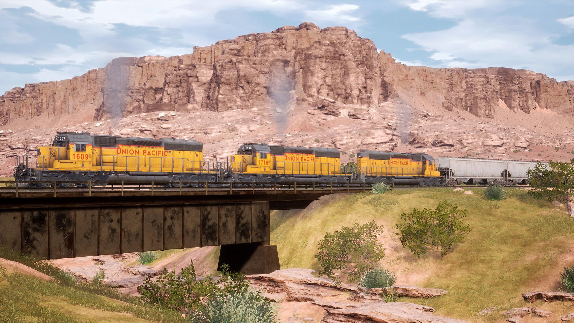 Train Sim World Cane Creek utah gameplay