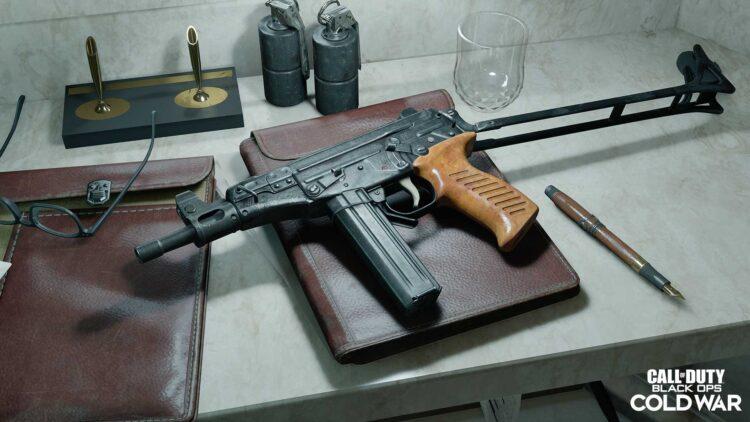 Warzone Ots 9 Submachine Gun Class
