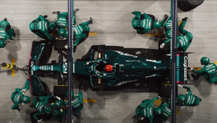 F1 2021 Patch 1.05 Mercedes Pit Stop