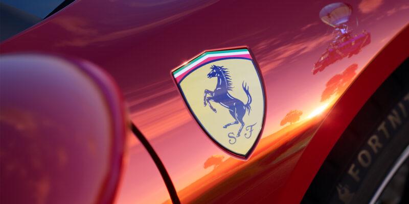 Fortnite Ferrari Crossover Release 296 gtb