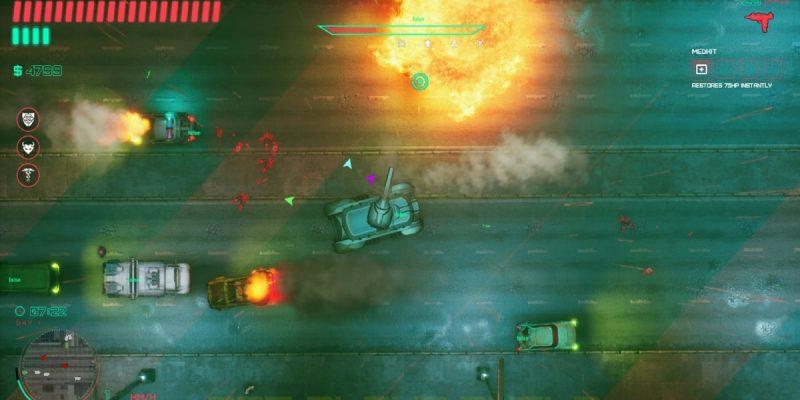 Glitchpunk release date car explosion