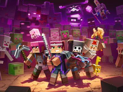 Minecraft Dungeons Echoing Void 1